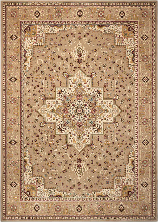 Kathy Ireland Antiquities Beige by Nourison ANT09