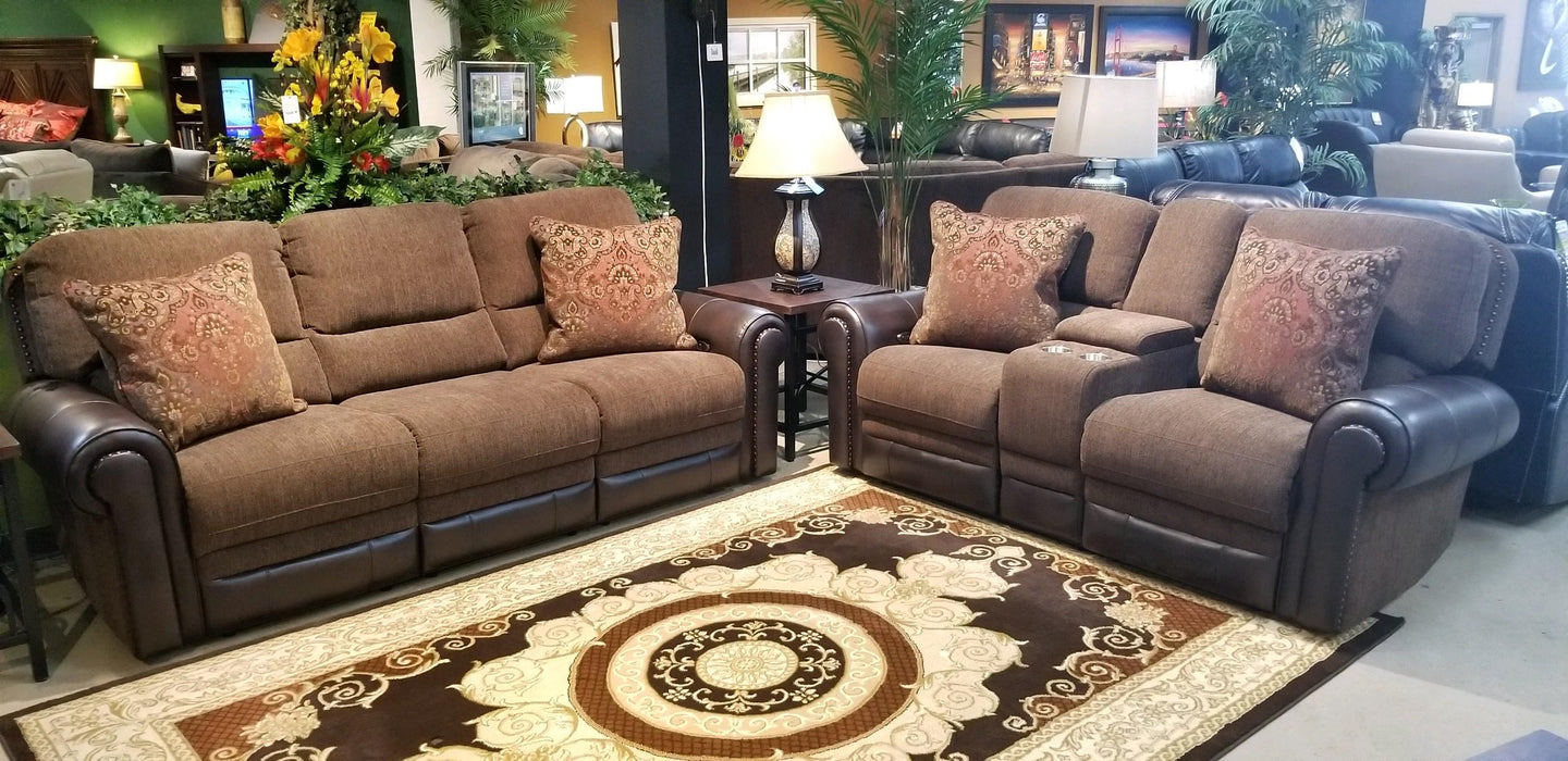 Auburn Reclining Living Room Collection