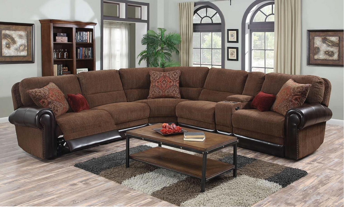 Auburn Power Reclining Sectional