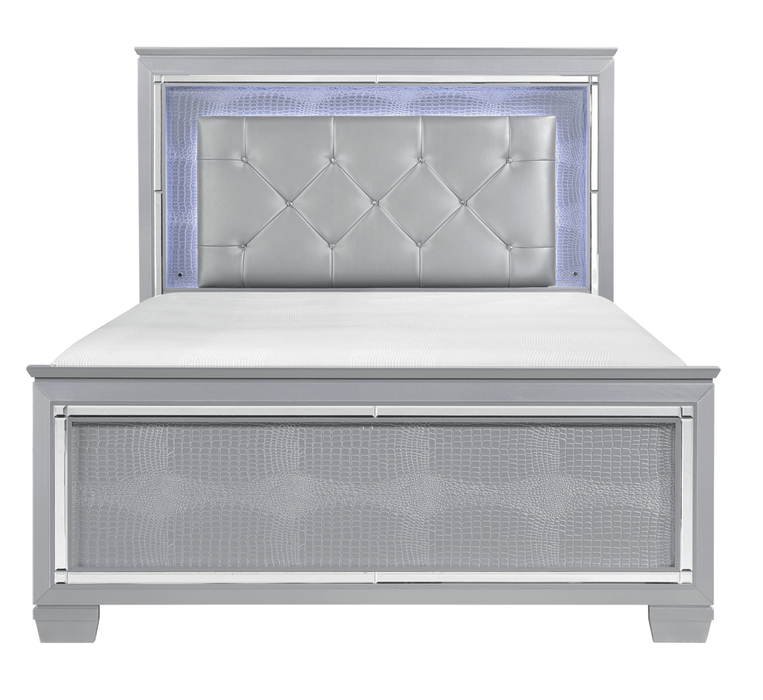 Veronica Silver Bedroom Collection