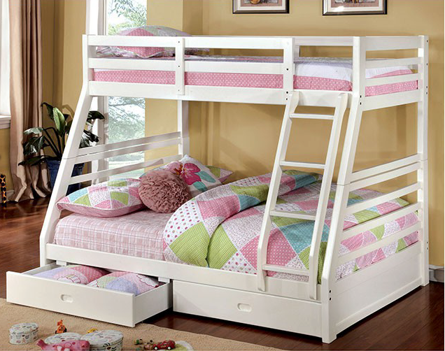 California III Twin/Full Bunk Bed