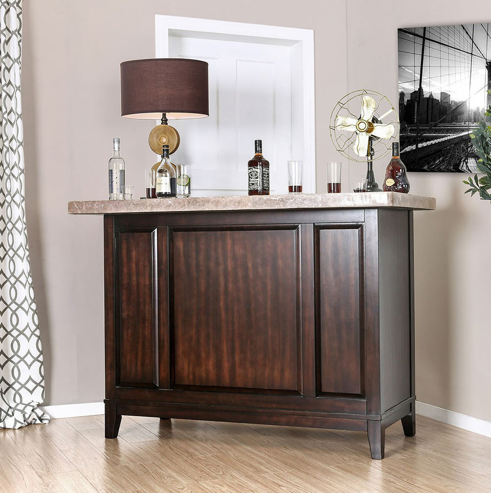 Bismarck Marble Top Bar Unit