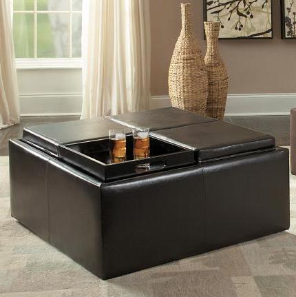Kaitlyn Storage Cocktail Ottoman