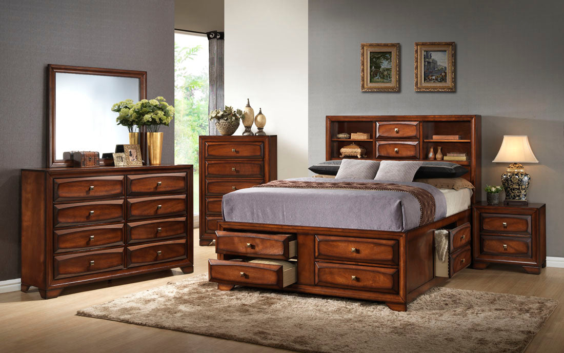 Bradvel Bookcase Bedroom Collection