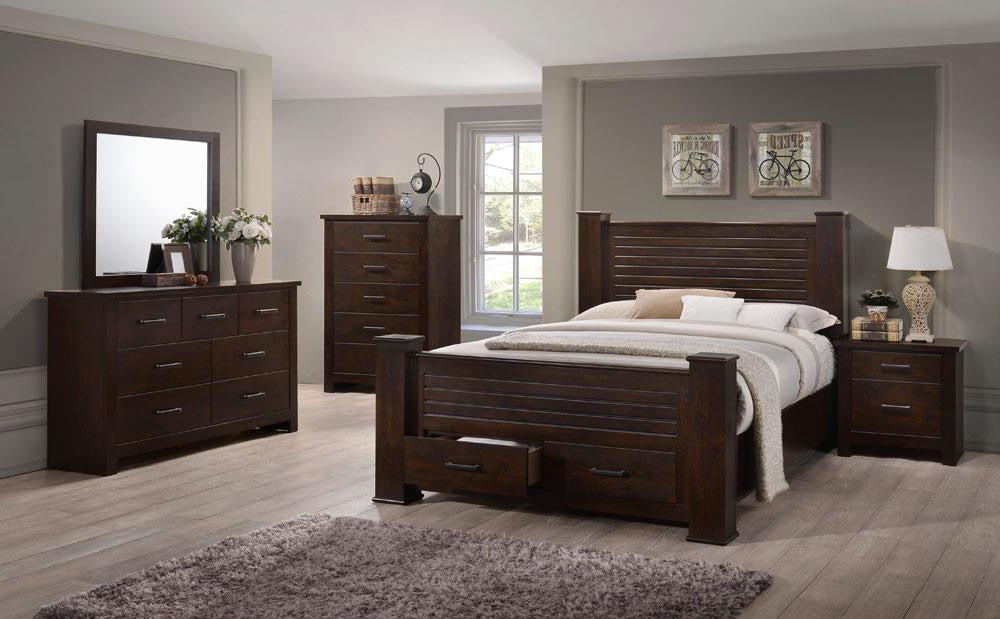 Palmore Storage Post Bedroom Collection
