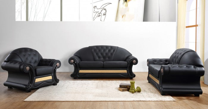 Cleopatra Leather Living Room Collection