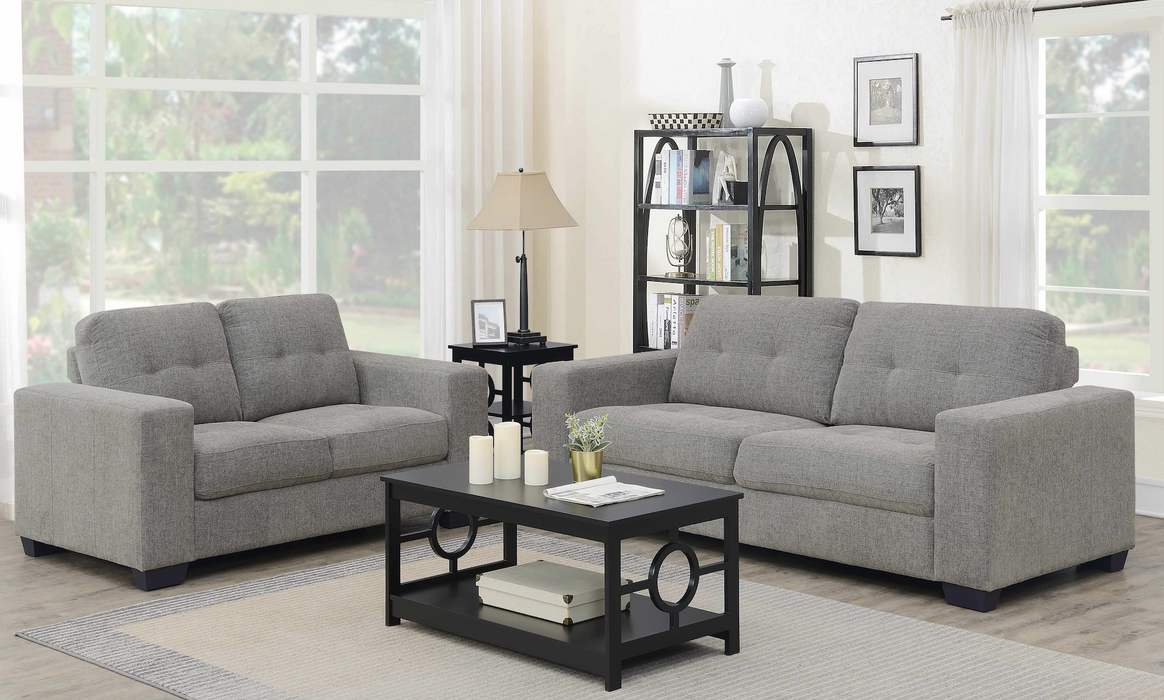 Grey Sofa Living Room Set