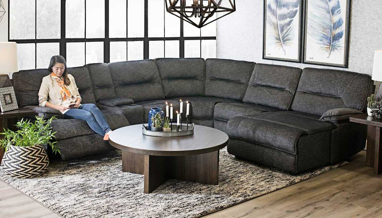 Pacifica 6 Pc. Power Reclining Sectional