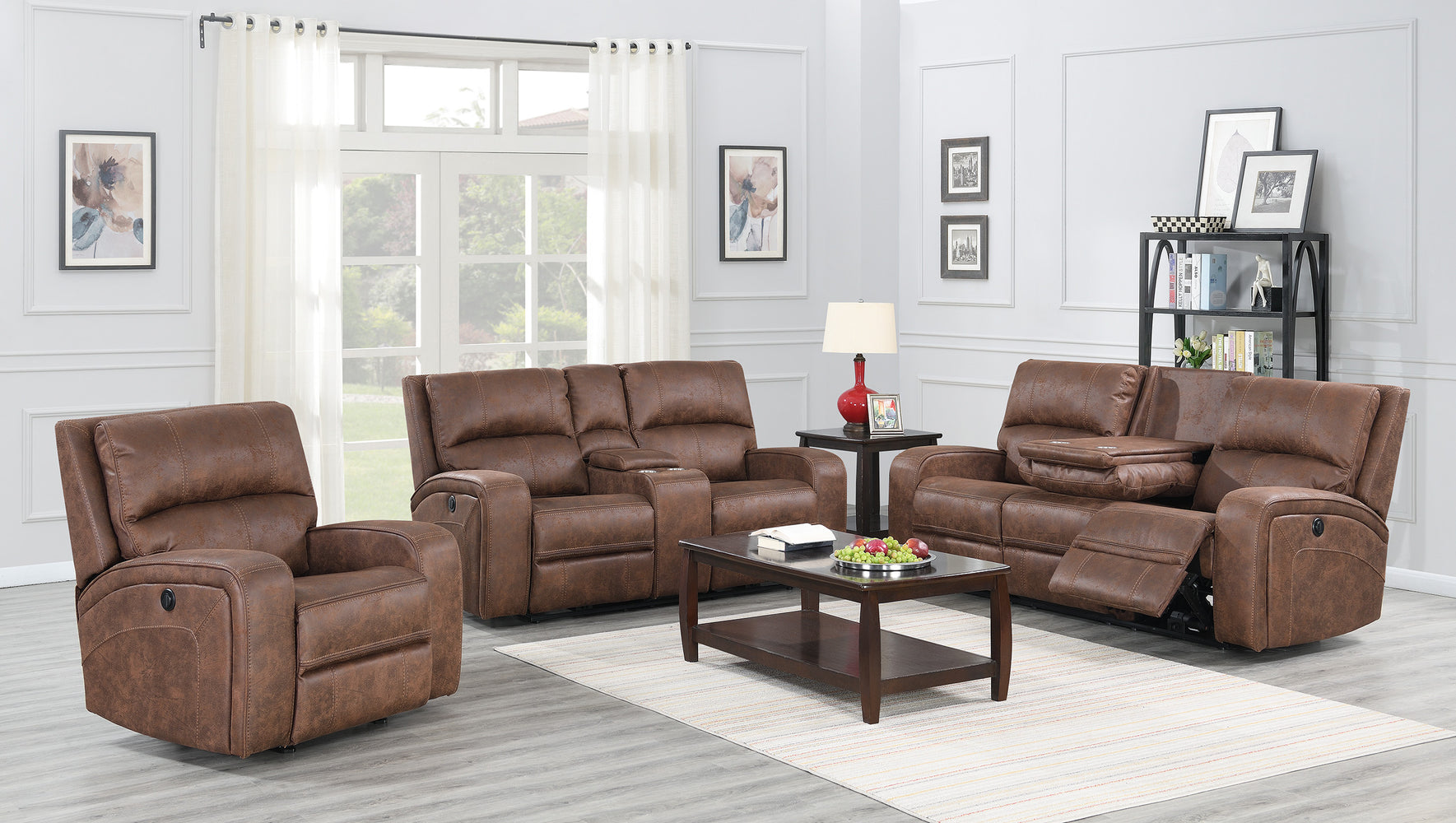 Perth Power Reclining Living Room Collection