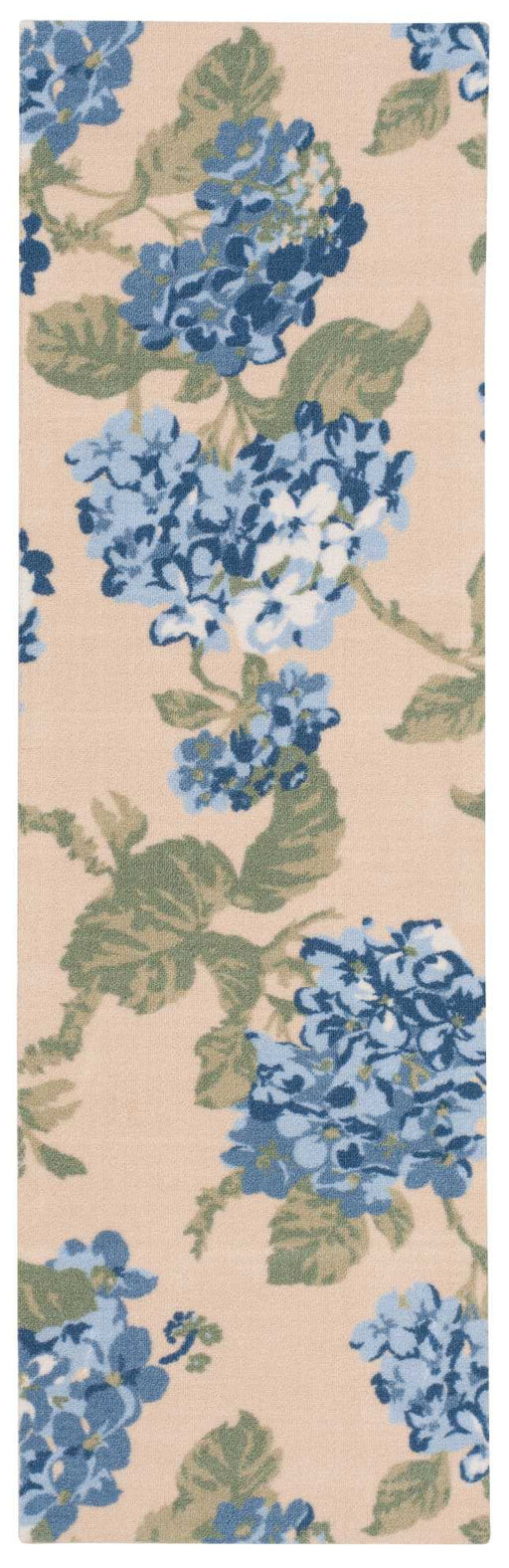 Waverly Sun & Shade Yellow Blue Indoor/Outdoor by Nourison SND15