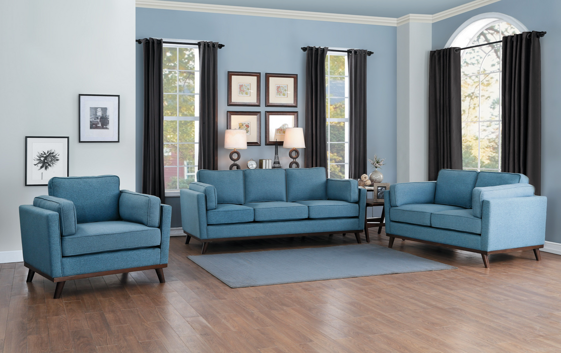 Bedos Mid-Century Modern Living Room Collection
