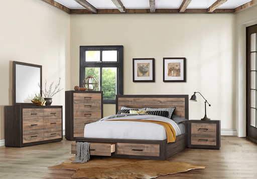 Miter Storage Bedroom Collection