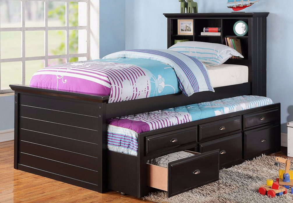Jr. Captain Twin Bed with Trundle