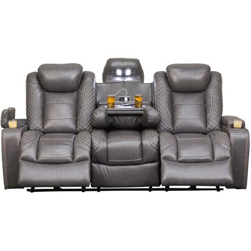 Targa Power Reclining Leather Living Room Collection