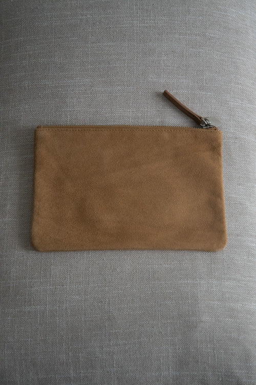 Suede Clutches