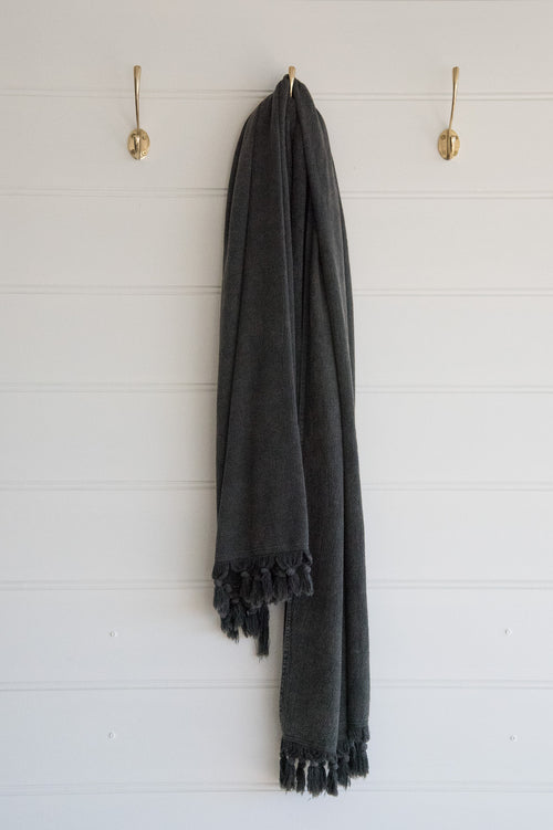 Turkish Towel Charcoal X Large