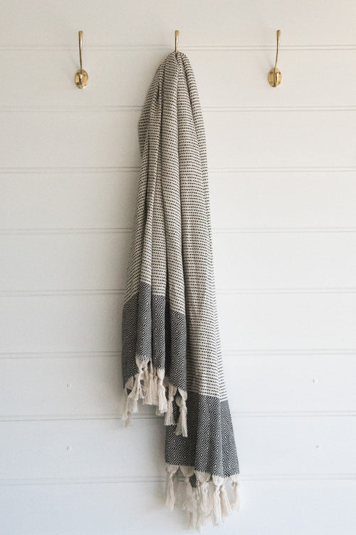 Turkish Towel, Diamond border