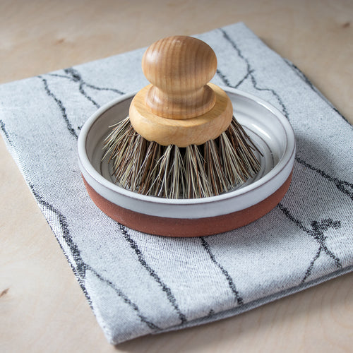 Round Pan Brush - Handcrafted Home Goods - Atelier Meipel