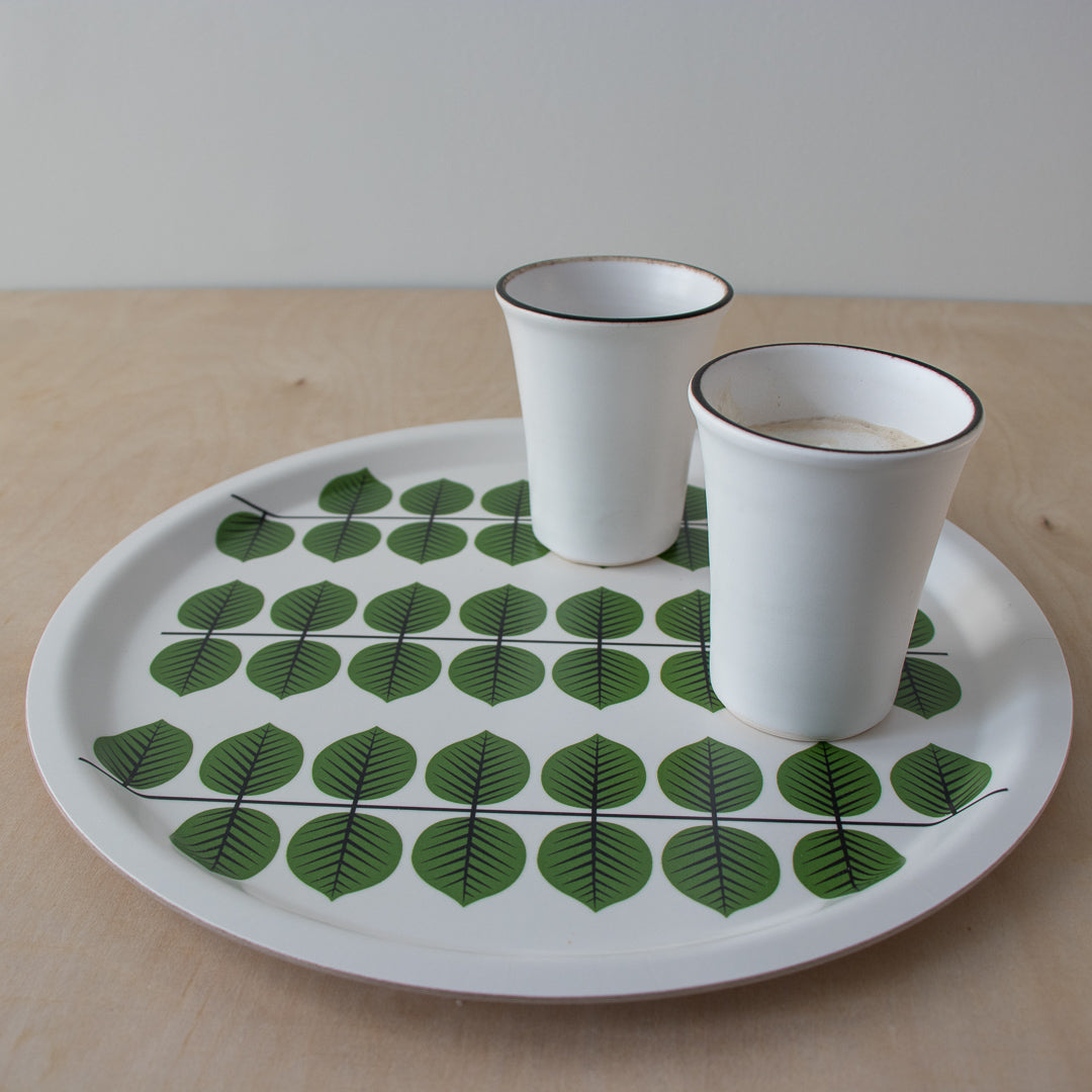Berså Fika Tray - Round - Handcrafted Home Goods - Atelier Meipel