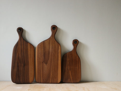 Muskoka N°3 Cutting Board - Walnut - Handcrafted Home Goods - Atelier Meipel