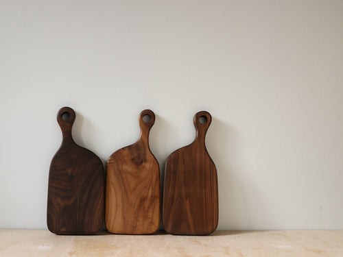 Muskoka N°1 Cutting Board - Walnut - Handcrafted Home Goods - Atelier Meipel