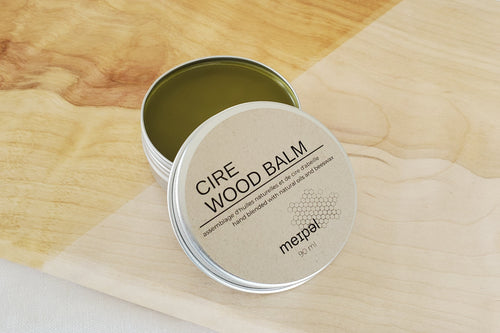 Wood Balm - Handcrafted Home Goods - Atelier Meipel