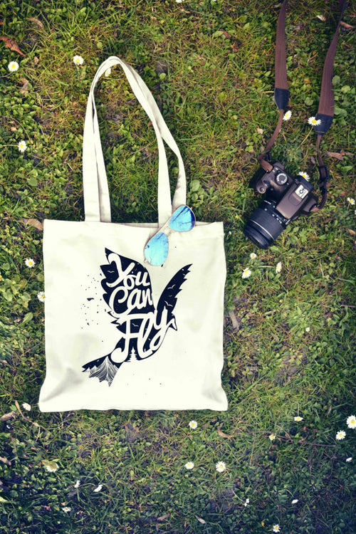 You Can Fly Tote Bag | Shopping Bag | Reusable - Dalia's Online Shop