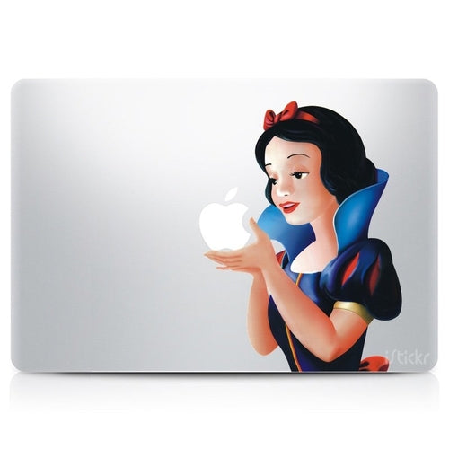 Snow White Emo MacBook Decal - Dalia's Online Shop