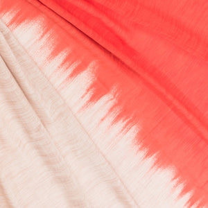 Sarong Pareo Red Beige Printed 100% Pure Cotton - Dalia's Online Shop