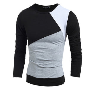 Fashion Men Long Sleeve T-Shirt - Dalia's Online Shop