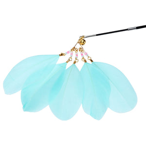 Retractable Cat Feather Wand Toy - Dalia's Online Shop