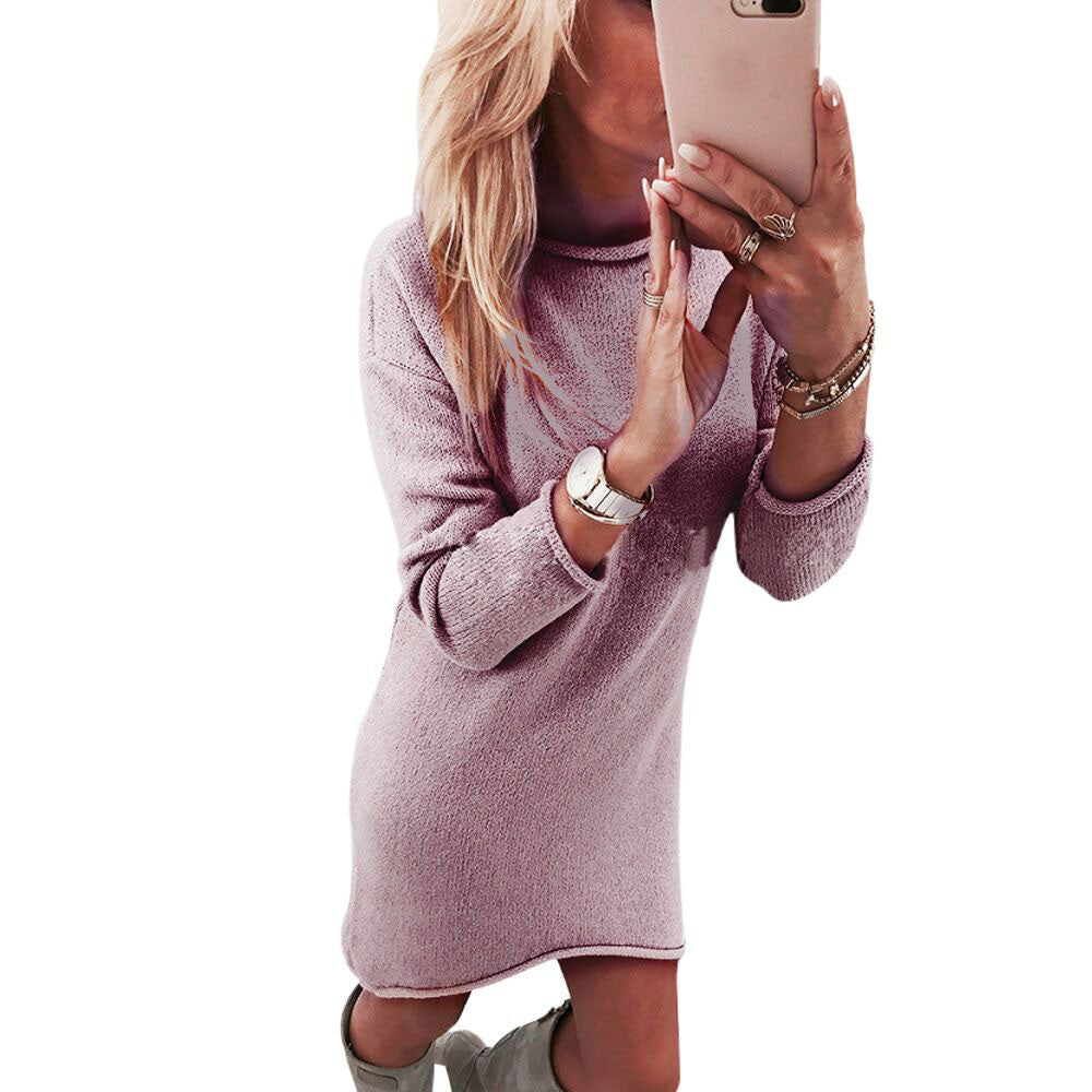 Fashion Women Pullover Dress - Dalia's Online Shop