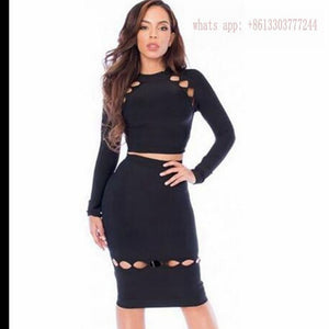 Women Party Dresses Celebrity 2 Piece Set - Dalia's Online Shop