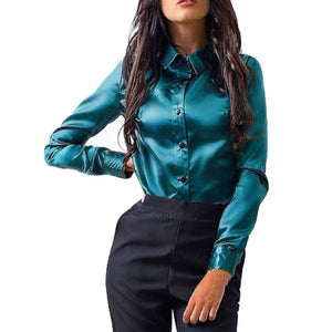 Women Fashion Long Sleeve Shirt - Dalia's Online Shop