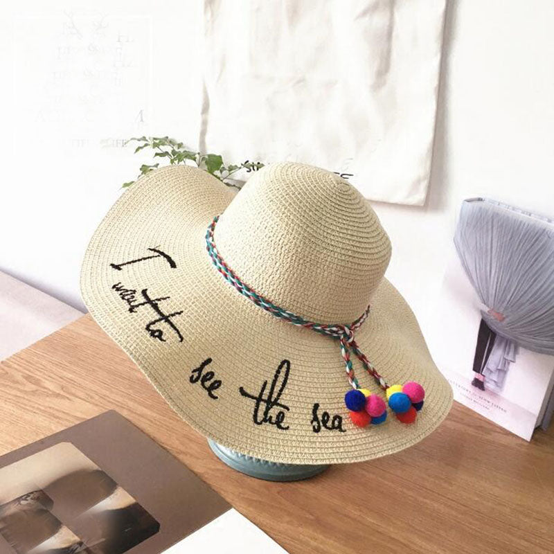 2018 Letter Embroidery Ladies Cap