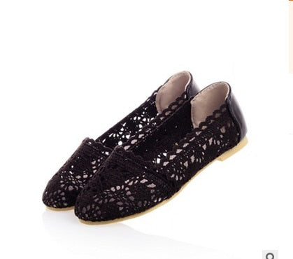 Ladies Breathable Knitting Summer Shoes - Dalia's Online Shop