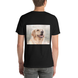 I Love Walking My Dog Short-Sleeve Unisex T-Shirt