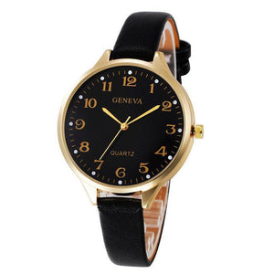 Get A FREE Black Leather Bracelet Quartz Watch For Women When You Purchase A T-shirt - awesometeeshirts.com