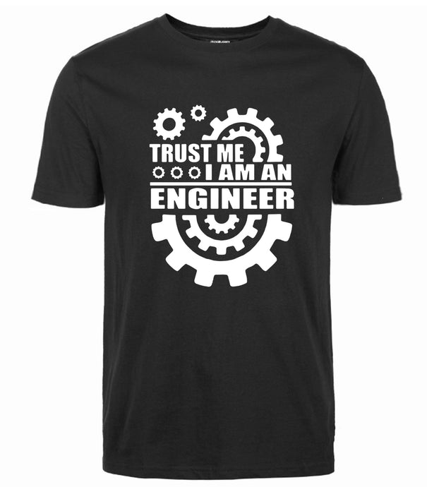 Men Cotton T-shirts Trust Me, I AM AN ENGINEER T Shirts - awesometeeshirts.com