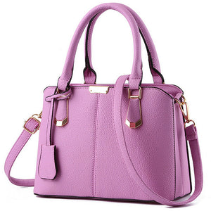 MEG Leather Top-handle Handbag