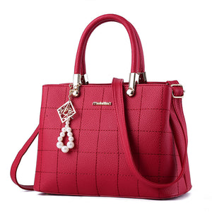MEG Leather Tote Handbag