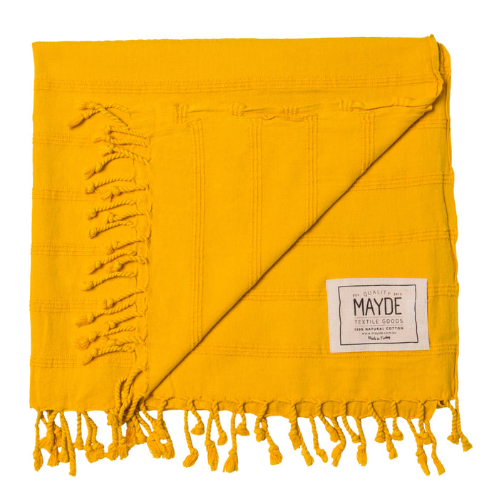 AVALON TOWEL - MUSTARD