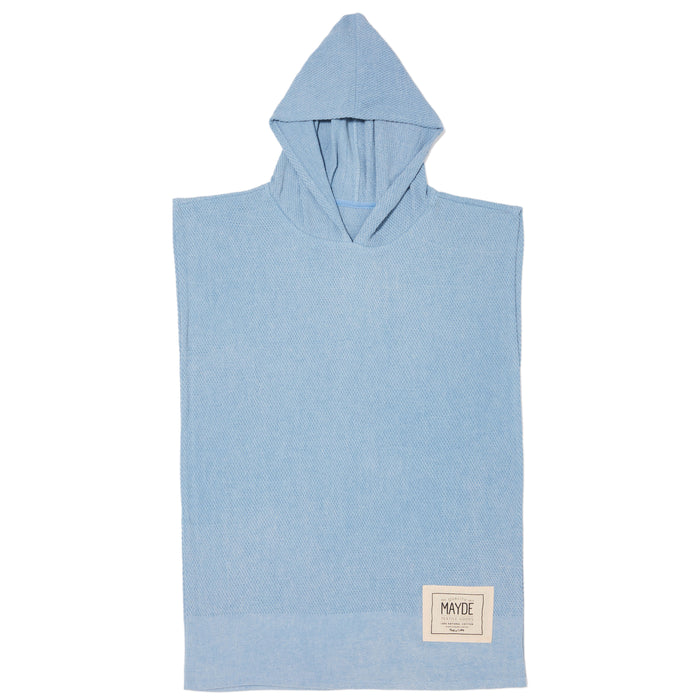 KIDS WATEGO'S PONCHO - DENIM