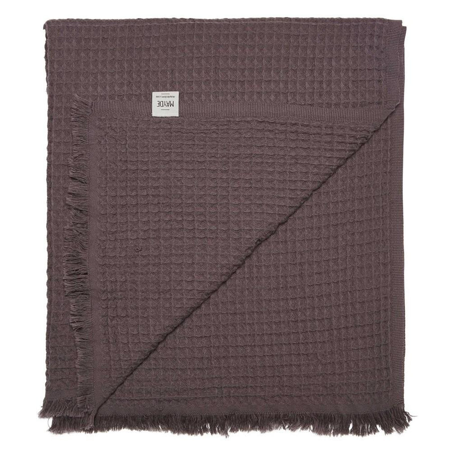 LENNOX TOWEL - CHARCOAL