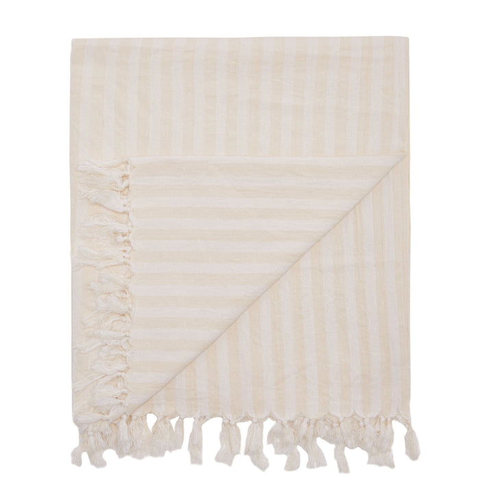 PALM COVE BLANKET - WHITE
