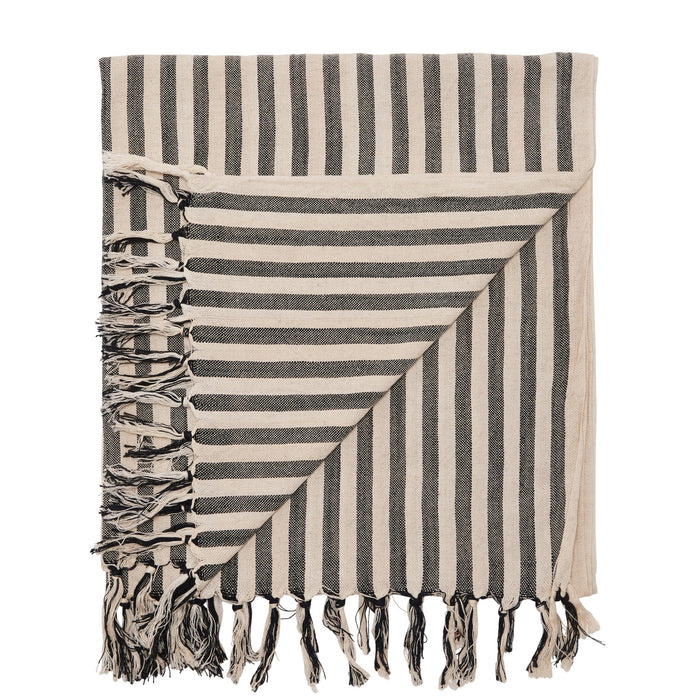 PALM COVE TOWEL - BLACK
