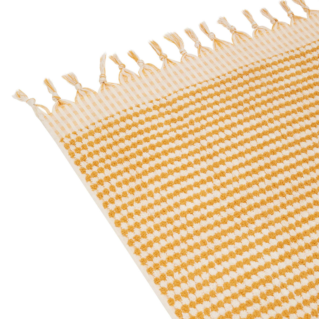 CRESCENT TOWEL - MUSTARD
