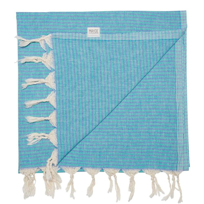 NOOSA TOWEL - SEA GREEN/MARINE