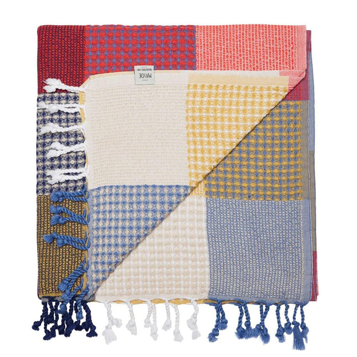 PATCHES TOWEL - MULTI