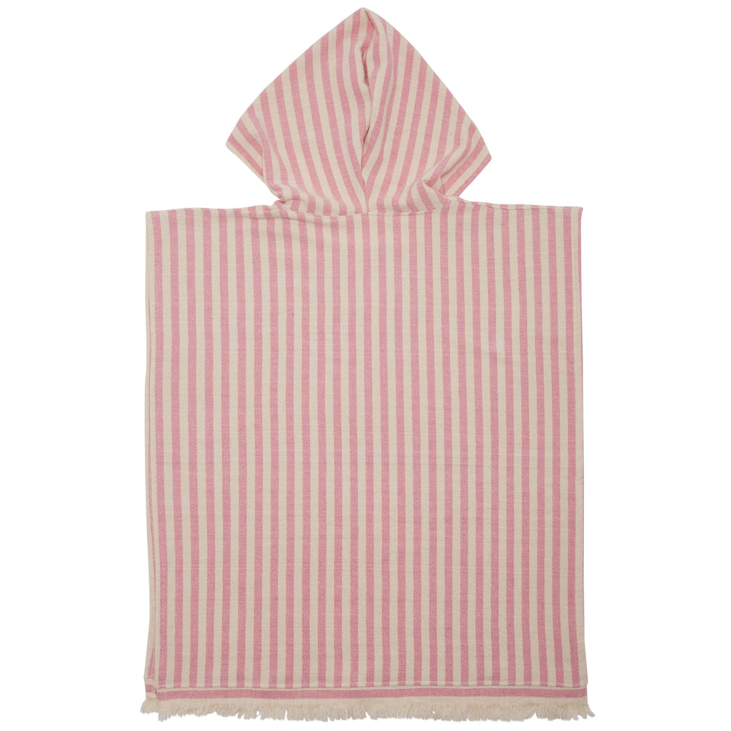TOTS PEBBLY PONCHO - PINK